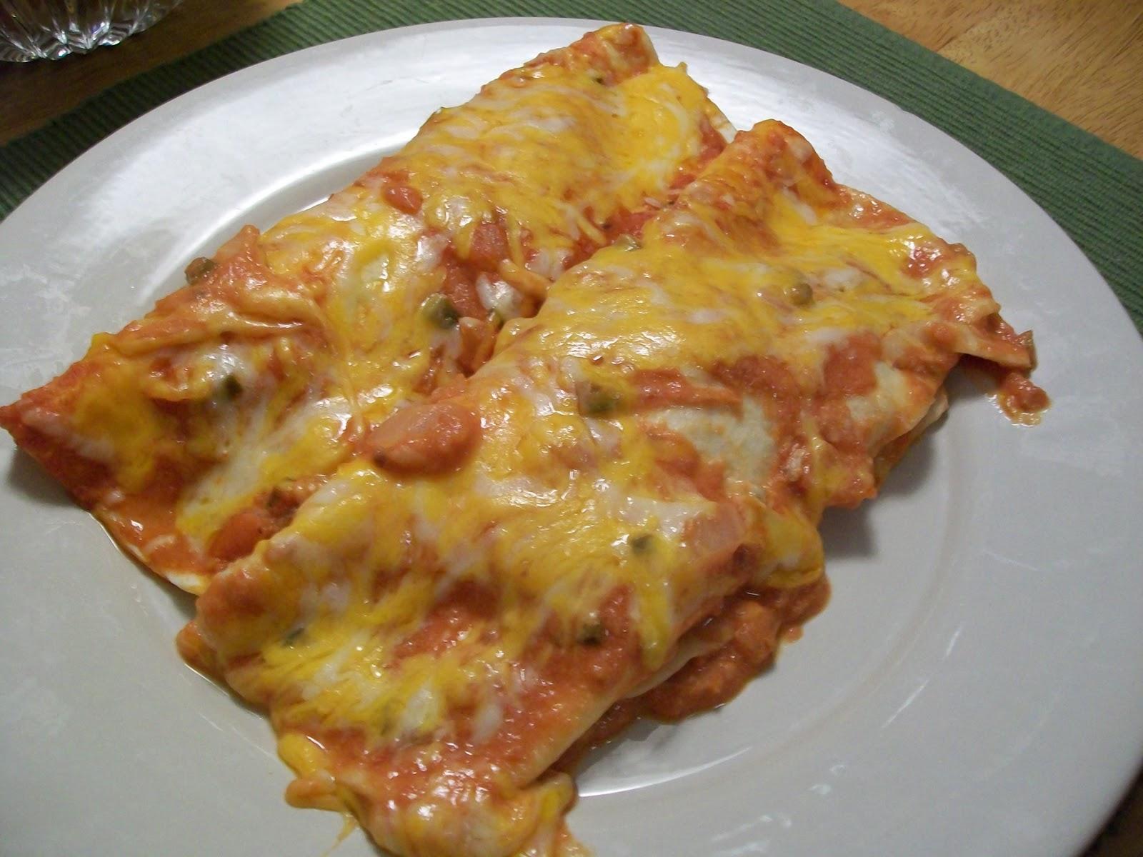 Elizabeth's Cooking Experiments: Enchiladas Suizas