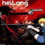 Female Supernatural Vampire Action Hellsing anime genre
