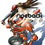 Female Mecha Drama Rideback anime genre