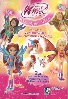 Журнал WINX - super star girl и бесплатная игра!
