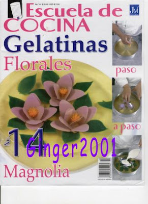 Escuela de Cocina - Gelatinas Florales Portada+Magnolia