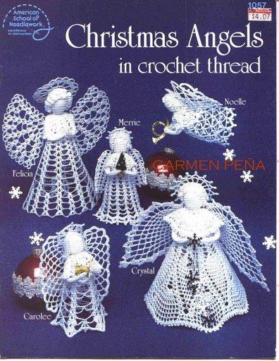 CHRISTMAS ANGELS IN CROCHET