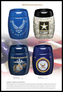 Buy Scentsy Military Warmers Patriot Collection