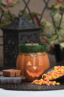 Scentsy Jack O' Lantern Warmer Styled Halloween Holiday