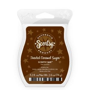 Toasted Caramel Sugar Scentsy Bar