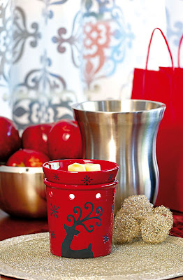 Scentsy Prancer Full-Size Warmer Scent of the Month for November 2010 Instock in Knoxville Oak Ridge TN