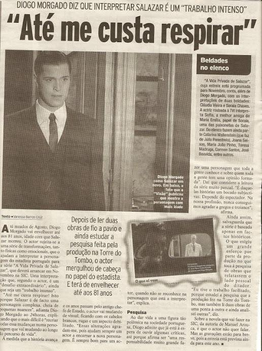Artigo do jornal 24 horas