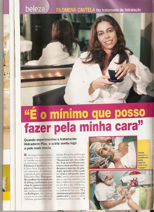 "Artigo da Revista ""TvMais"""