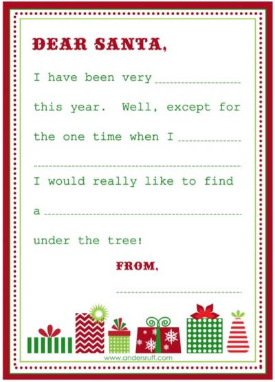 My Delicious Ambiguity: Santas Coming: Free Printables & Creative ...