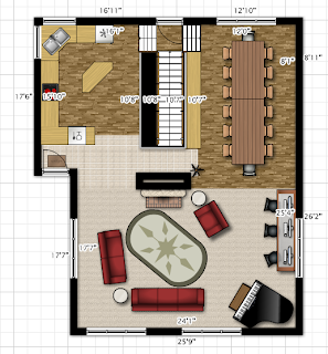 Home Design Sketches and Inspirations: 4 15'x20' floor plans. on