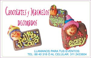 Masmelos y Chocolates decorados para todas las ocasiones especiales!!
