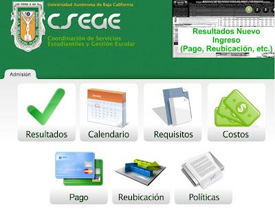 el calendario de inscripcion requisitos forma de pago informacion para