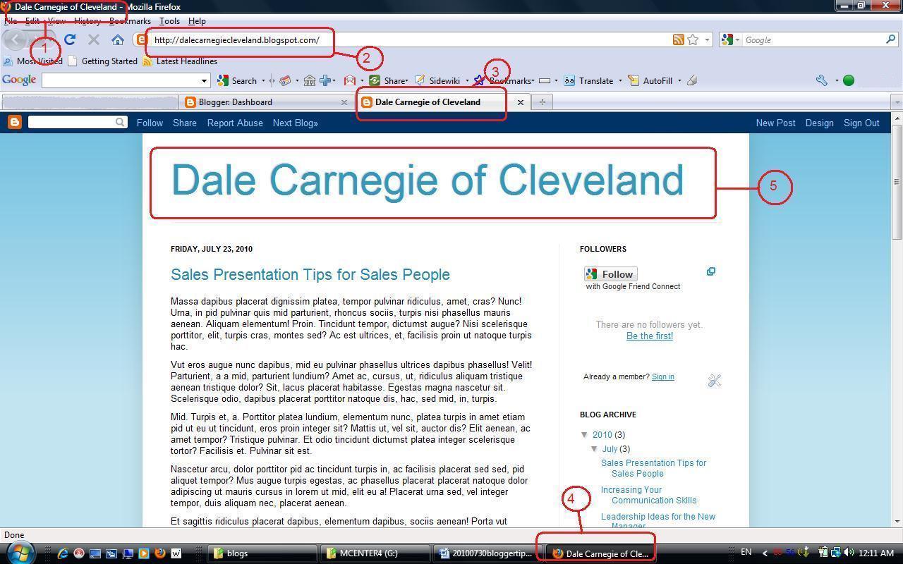 Sales IT Tech: Blogger Title Optimization Tip For Dale ...