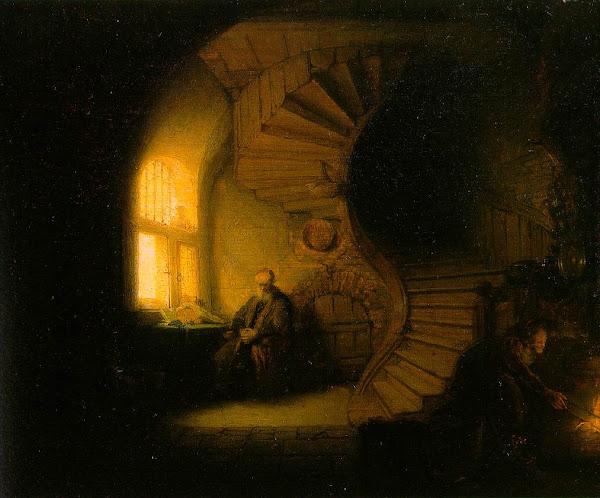Philosopher in Meditation (Rembrandt)