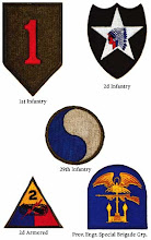 Unit Insignia Badges on Omaha
