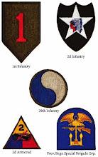 Unit Insignia Badges on Omaha