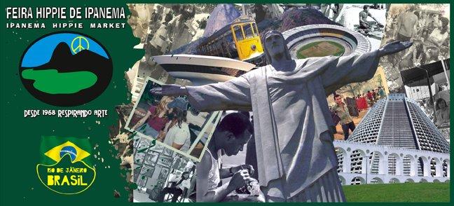 Paginas dos artistas da Feira Hippie de Ipanema