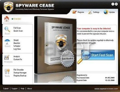 free spyware, cease free download