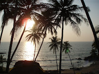 vagator beach-goa beach-famous places in india