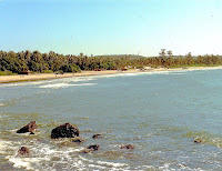 Baga Beach: goa beach- famous places in india