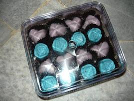 16 pcs chocolate