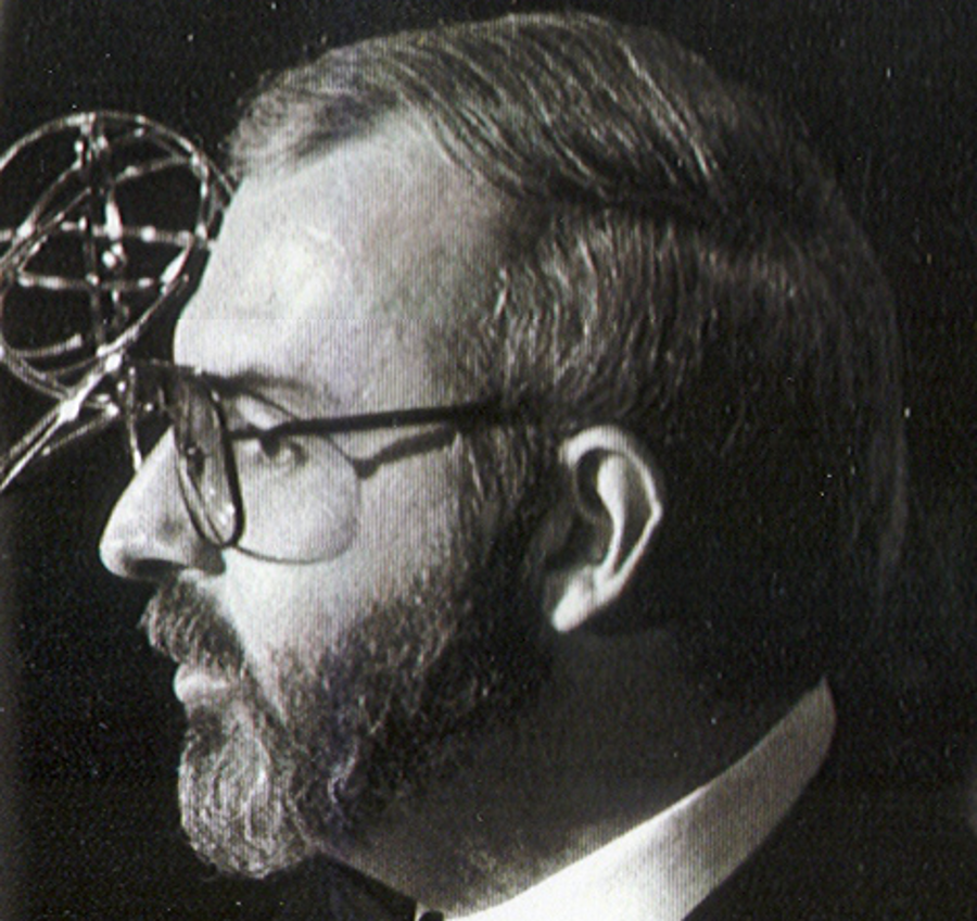 David Angell at the Emmy Awards