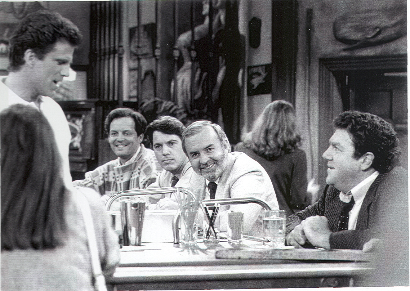 David Angell on Cheers