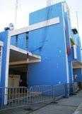 Blindan con vallas metalicas y antimotines palacio de Tenabo. 31ene2011.