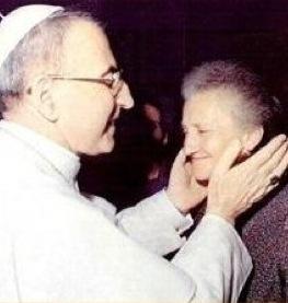 Papa Luciani<br>gentle &amp; meek...