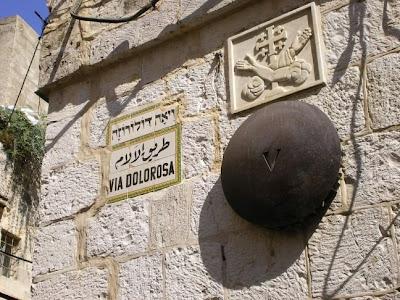 Image of the Via Dolorosa