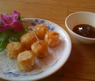 nourish the beast: Bang Bang, Spicy Asian, Bangin' Firecracker Shrimp