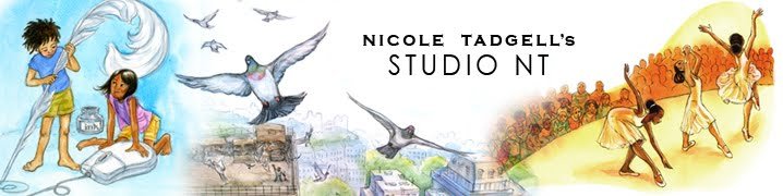 Nicole Tadgell Illustration