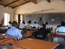 Typical secondary school classroom