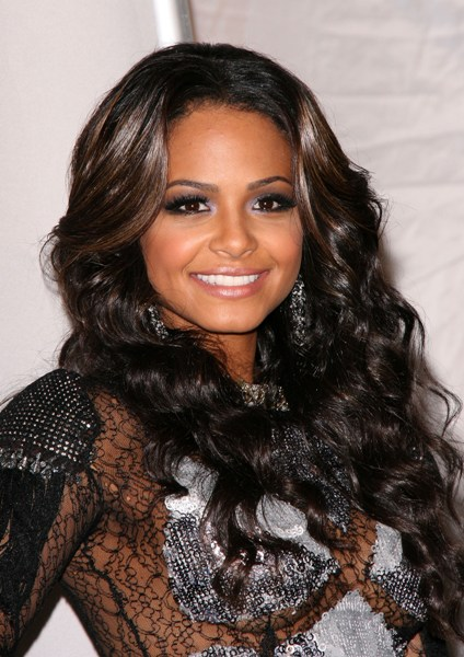 Christina Milian's long, wavy hairstyle, 5.0 out of 5 based on 1 rating