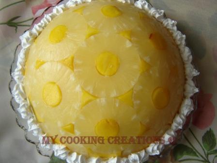 """Торта """"Купол от ананас"""""""