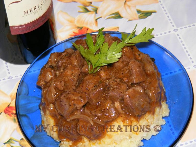 Кебаб с вино * Kebab al vino