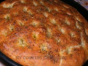 Фокача с чесън и розмарин * Focaccia all'aglio e rosmarino