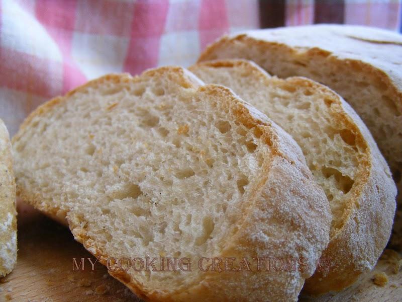 Pane toscano con pasta madre * Хляб по тоскански с жива закваска
