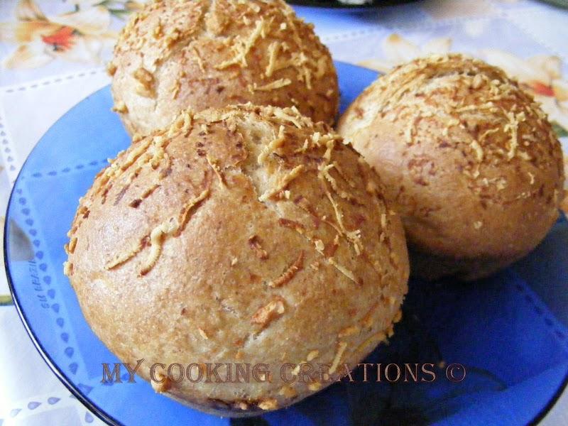 Panini all'olio in forma di muffin * Питки във форма за мъфини