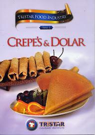 Buku Resep: Cara Membuat Creepes Renyah & Harum