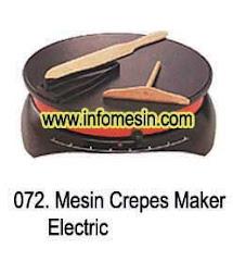 Creepes Maker - Mesin Pembuat Creepes - Anti Lengket