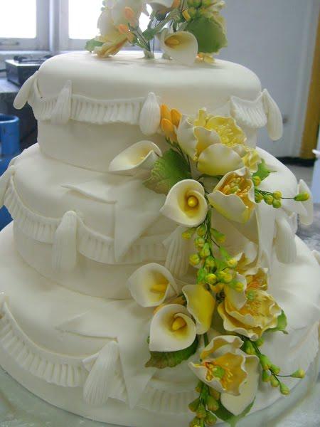 Belajar Cara Membuat Wedding Cake