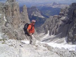 Jean-Pierre et les Dolomites
