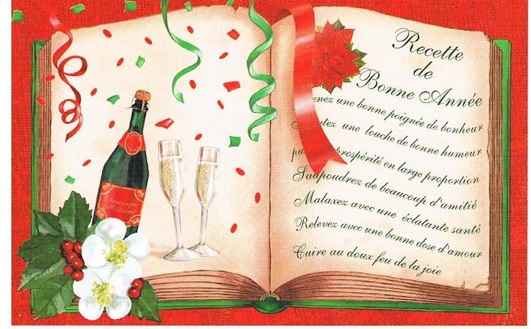 L'association Nouvel élan vous présente ses meilleurs voeux pour l'année 2011