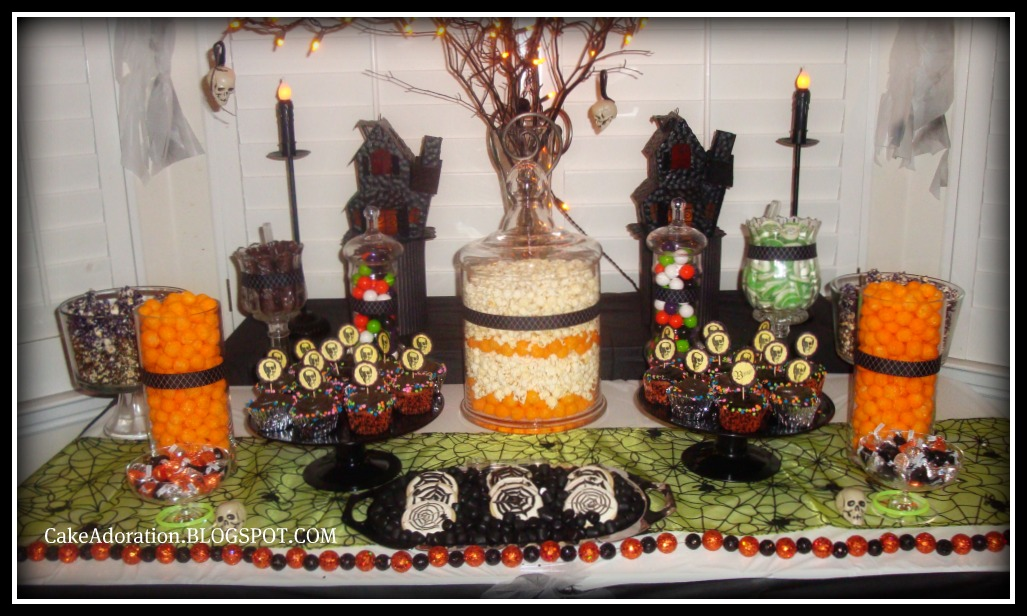 halloween candy table ideas photograph this adorable hallo. Black Bedroom Furniture Sets. Home Design Ideas