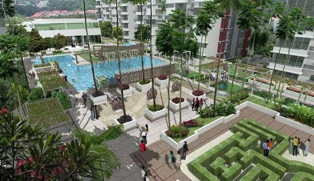 Puchong koi kinrara phase 2 for Koi kinrara swimming pool