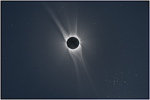 Total Solar eclipse stars 2008/08/01
