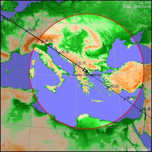 OBSERVATORY A.S.P.R.O.S.  MACEDONIA HELLAS (GREECE)