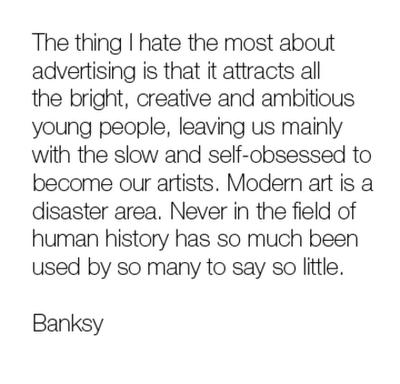 banksy poem