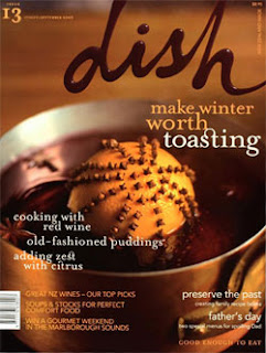 Dish Magazine - Best cover 2008 Qantas media awards